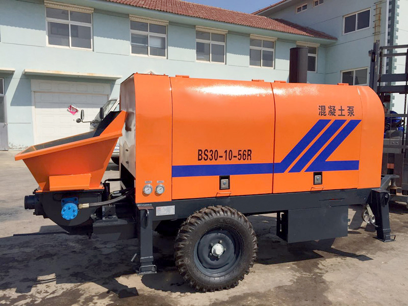 BS30 concrete trailer pump