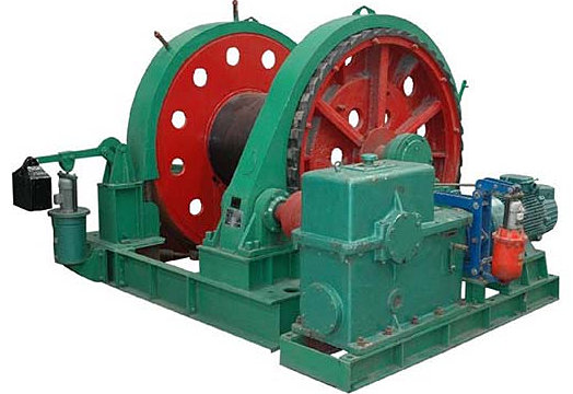 Ellsen mine winch